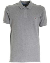 PS by Paul Smith - Zebra Logo Patch Polo Shirt - Lyst