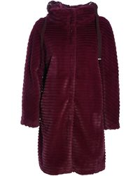 Herno Long Faux Fur - Red