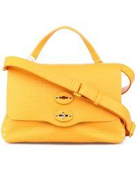 Zanellato Postina S Linea Pura Bamboo Bag - Yellow