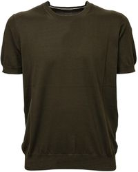 Paolo Pecora Knitted T-shirt - Green