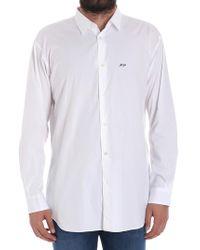 Comme des Garçons White Cotton Shirt