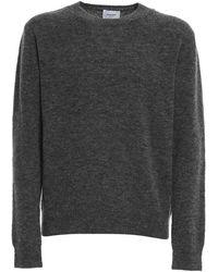 Dondup Crewneck Wool Blend Sweater - Grey