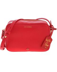 Lulu Guinness Patsy Shoulder Bag - Red