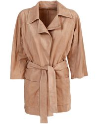 DROMe Wrapped Jacket - Natural
