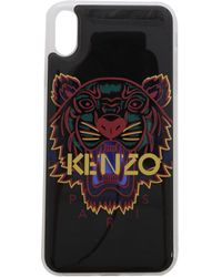 KENZO Cover Tiger Per I-Phone Xs Nera - Nero