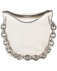 Gianni Chiarini Sophia Soft Leather Bucket Bag - White