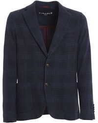 Circolo 1901 Blazer With Two Buttons - Blue