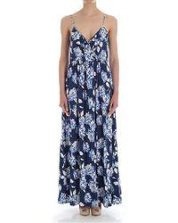 Saucony Dark Blue Floral Dress