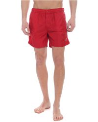 Moncler - Red Swimsuit - Lyst