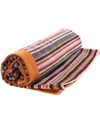 Paul Smith Asciugamano a righe multicolor - Multicolore