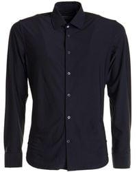 Corneliani Stretch Shirt - Black