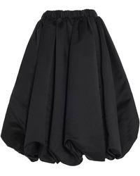 Comme des Garçons Balloon Skirt - Black