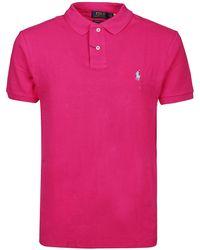 Polo Ralph Lauren Purple Cotton Polo
