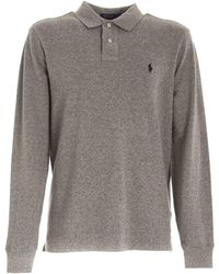 Polo Ralph Lauren - Logo Embroidery Polo Shirt - Lyst