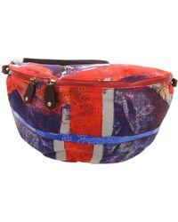 Vivienne Westwood Multicolour Albert Xl Belt Bag - Red