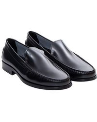 Tod's - Leather Loafers - Lyst
