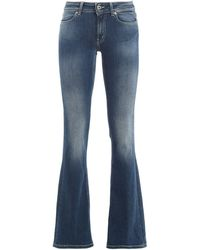 Dondup Lola Flared Jeans - Blue