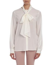 Ballantyne Stretch Silk Shirt - White