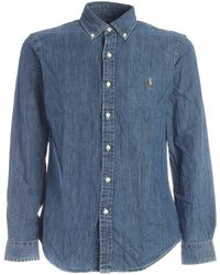 Polo Ralph Lauren Camicia Button-Down - Blu