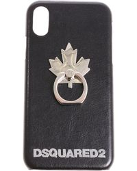 DSquared² - Canadian Leaf Iphone X Cover - Lyst