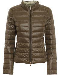 Patrizia Pepe Reversible Quilted Puffer Jacket - Green