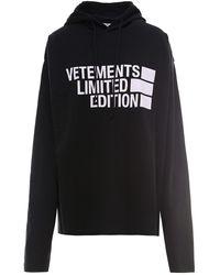 Vetements Limited Edition Hoodie - Black