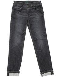 Dondup Jeans George Nero Delavé