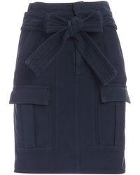 Dondup - Pockets Skirt - Lyst