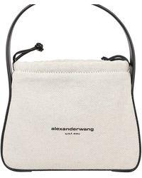 Alexander Wang Borsa A Spalla Ryan - Bianco