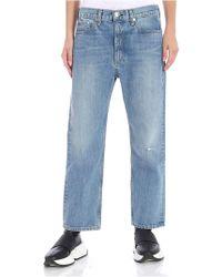 Rag & Bone - Light-blue 5 Pocket Jeans - Lyst