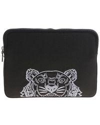 KENZO - Black Tiger Tablet Case - Lyst