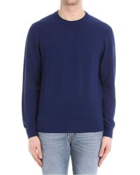 Brooks Brothers - Electric Blue Wool Jumper - Lyst