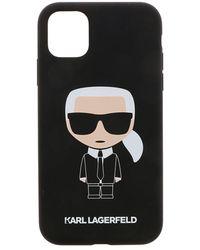 Karl Lagerfeld Cover Iphone 11 K Ikonic Nera - Nero