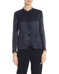 Aspesi Single-breasted Jacket - Blue