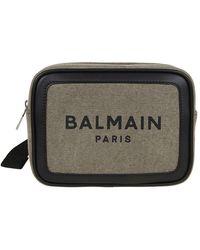 Balmain B-army 20 Belt Bag - Green