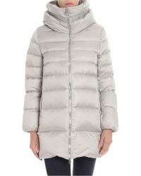 Add - Ice-color Quilted Down Jacket - Lyst