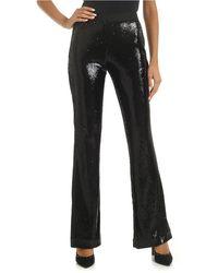 P.A.R.O.S.H. Black Sequin Pants