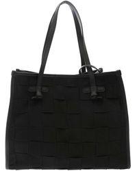 Gianni Chiarini Marcella Shopper Bag - Black
