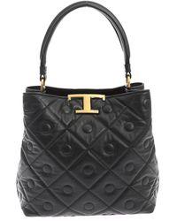 Tod's Bucket Bag - Black