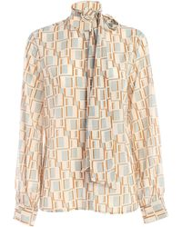 Ballantyne Printed Shirt - Natural