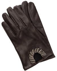 Orciani - Leather Gloves - Lyst