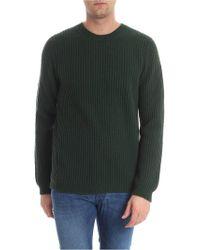 Trussardi - Green Knit Pullover - Lyst