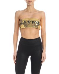 Moschino Top Hollywood - Metallizzato