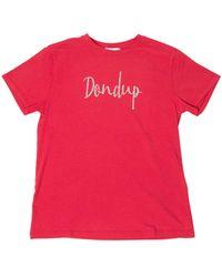 Dondup Glittered Logo T-shirt - Multicolour