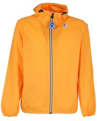 K-Way Le Vrai 3.0 Claude Jacket - Orange