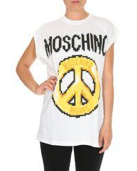 Moschino Cotton T-shirt - White