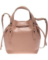 Hogan H018 Bucket Bag - Natural