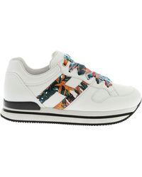 Hogan H222 Sneakers - White