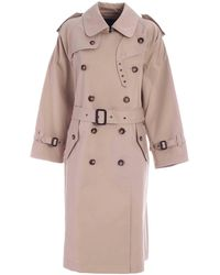 Marc By Marc Jacobs Maisie Cousins Trench Coat - Natural