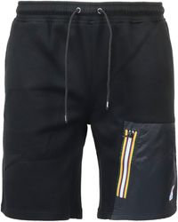 K-Way Shorts Le Vrai Gontrand Nero